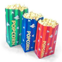 Popcorn Paper Bags (Sm, Med, Lg)